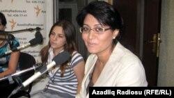 Xanım Qafarova və İlhamiyyə Rza