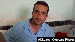 کشیش یوسف ندرخانی در زندان لاکان رشت.