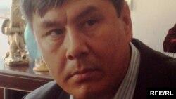 Жапарбай Шадкам, этнический казах, проживающий в Иране. Алматы, 20 октября 2009 года.