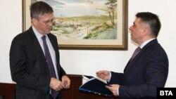 Джон Филп и Данаил Кирилов се срещнаха във вторник
