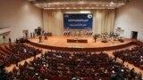 البرلمان الجديد بجلسته الأولى في 1 تموز 2014