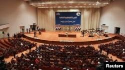 Yragyň täze parlamenti, Bagdat, 1-nji iýul, 2014.