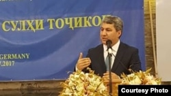 Лидер запрещенной в Таджикистане Партии исламского возрождения Таджикистана (ПИВТ) Мухиддин Кабири.