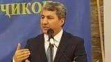 """Täjigistanda gadagan edilen """"Yslamçy Gaýtadan döreýiş"""" partiýasynyň lideri Muhiddin Kabiri"""
