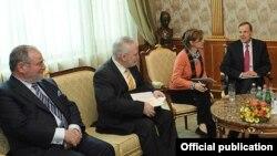 Сопредседатели в Ереване, 3 марта 2012