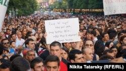 Yerevanda mitinq - 28 iyun 2015
