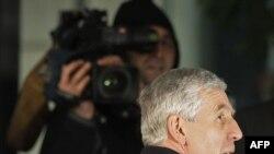 Джек Стро перед слуханнями у суді, Лондон, 21 січня 2009 року