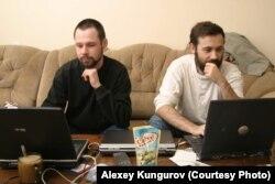 Алексей Кунгуров и Илья Пономарев