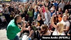 Dubioza kolektiv na ulicama Beograda