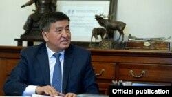 Премьер-министр Сооронбай Жээнбеков