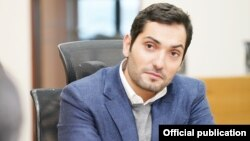 Armenia -- Gurgen Khachatrian, the chairman of Ucom company's board of directors.