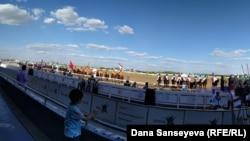 Астанадагы чемпиондуктун ачылыш аземи. 21.08.2017