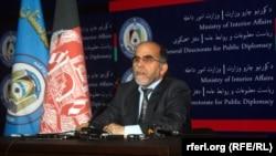بازمحمد احمدی معین مبارزه با مواد مخدر وزارت داخله افغانستان
