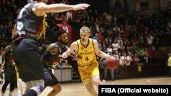 «Київ-Баскет» залишався єдиним представник України в Кубку Європи ФІБА