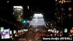 Ukrašene ulice Beograda