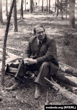 Іван Чыгрынаў. 1980-я гг. Фота Анатоля Каляды. З фондаў БДАМЛМ