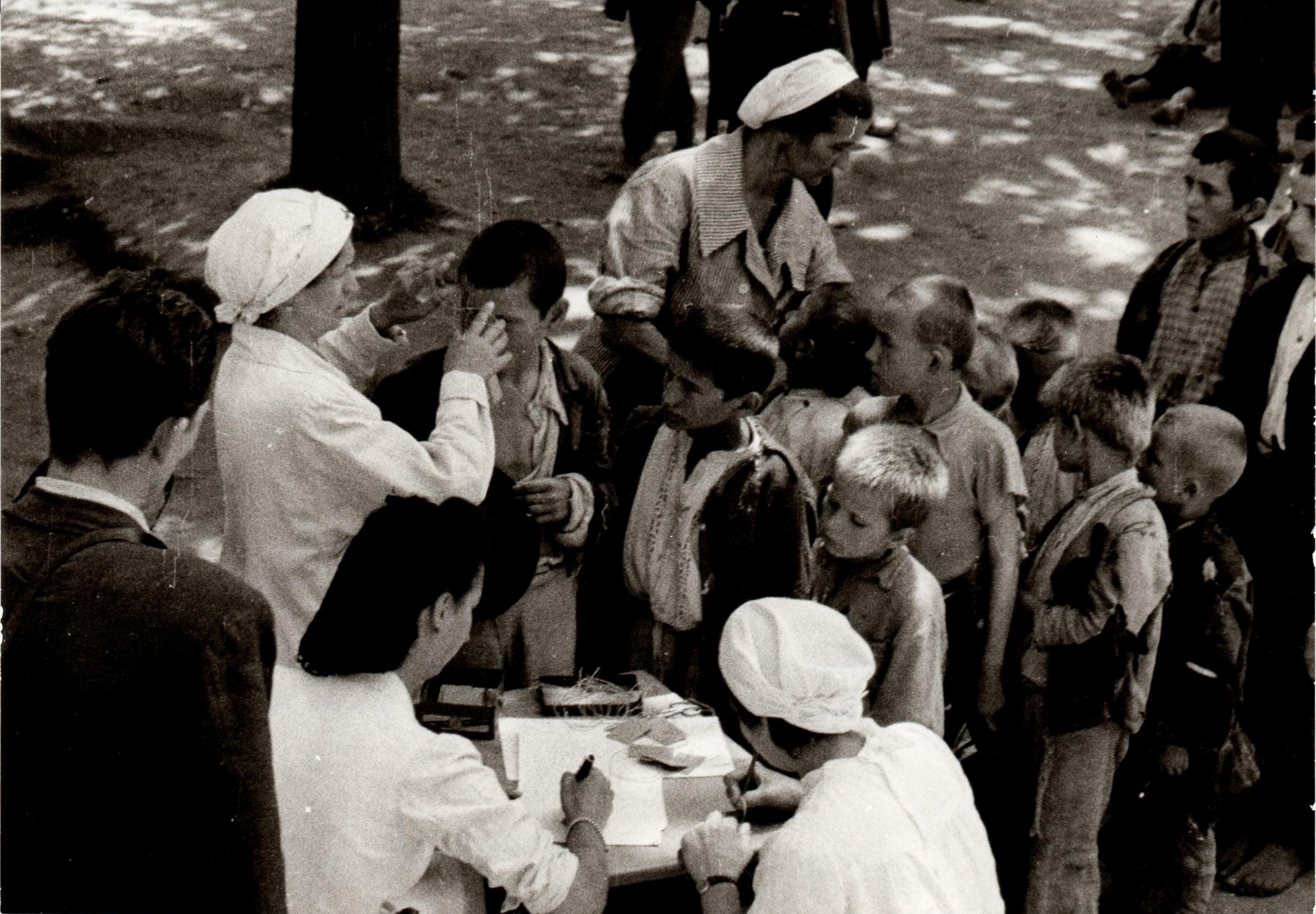 Evidencija djece zatočene u logoru Stara Gradiška 1942. godine, Ustupljena fotografija: Spomen Područje Jasenovac