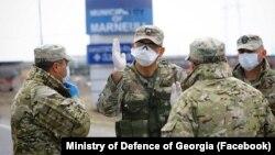 В эти дни грузинские военные наряду с медиками вовлечены в борьбу против пандемии COVID-19