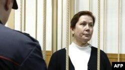 Наталья Шарина в суде 30 октября 2015 г.
