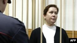 Наталія Шаріна у Таганському суді. Москва, жовтень 2015 року