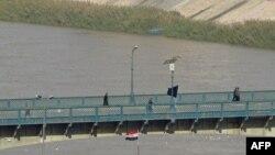 جانب من نهر دجلة في بغداد