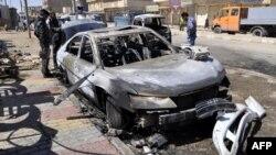 Pamje nga një shpërthim i mëparshëm në Irak
