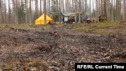 Лагерь «сунских партизан»