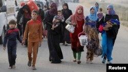 Иракские беженцы. Иллюстративное фото.