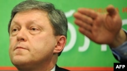 Grigory Yavlinsky's Yabloko party said security cameras captured the January 28 attack.