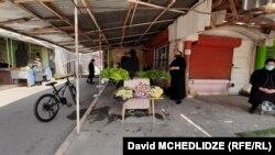 Сельскохозяйственный рынок в Рустави