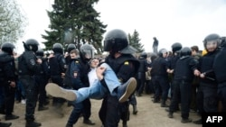 Задержания в Петербурге (12 июня 2017 г.)