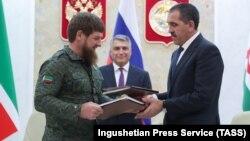 Рамзан Кадыров и Юнус-Бек Евкуров встретились 26 сентября