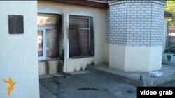 "Мечеть ""Чукурча"" после поджога"