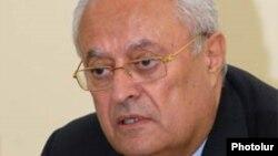 Министр энергетики и природных ресурсов Ерванд Захарян (архив)
