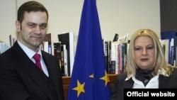 Борислав Стефановиќ и Едита Тахири