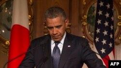 Барак Обама в Токио, 24 апреля 2014