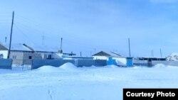 Дома в поселке Старый Жайрем. Карагандинская область, 27 декабря 2019 года.