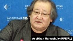 Театр режиссері Болат Атабаев. Алматы, 20 ақпан 2012 жыл. (Көрнекі сурет)