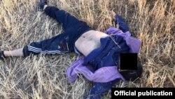 Ликвидированный в Кыргызстане предполагаемый боевик.