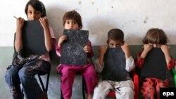 Jetimore në Afganistan