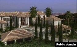"""Район Марбельи, известный среди местных жителей как """"Поместье Путина"""""""