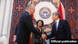 Фред Хьюстон, региональный директор Программы USAID/IDLO по укреплению судебной системы Кыргызской Республики.