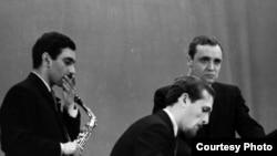 Геннадий Гольштейн, Давид Голощекин, Константин Носов. 1967.