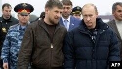 Архивное фото: Рамзан Кадыров и Владимир Путин