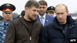 Рамзан Кадиров і Володимир Путін