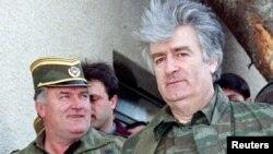 Radovan Karadžić i Ratko Mladić u aprilu 1995.