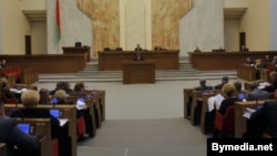 Депутаты белорусского парламента.