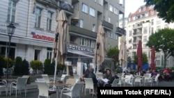 "Terasa cafenelei vest-berlineze ""Potemkin"""