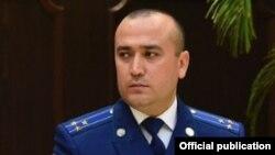 Глава Агентства по финансовому контролю и борьбе с коррупцией Таджикистана Сулаймон Султанзода.