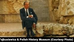 Ян Карский в Иерусалиме.